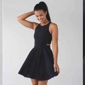 Lululemon Away Black Dress
